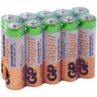 Купить батарейка aa 10 шт/уп gp super в пленке 1/1 в Москве