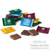 Шоколад молочный порционный 1.4кг RITTER SPORT ассорти вкусов 1/4