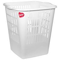 Купить корзина мусорная 11.5л дхшхв 265х250х288 мм пластик белая bora 1/28 в Москве