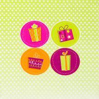 Купить салфетка бумажная 33х33 см 3 -сл 20 шт/уп рождественские подарки papstar 1/15 в Москве