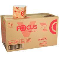 Купить бумага туалетная листовая 2-сл 250 лист/уп*30 дхш 250х110 мм v-сложения focus premium белая hayat 1/1 в Москве