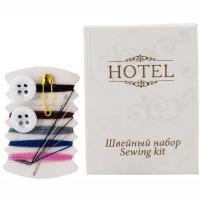 Купить швейный набор 4 предмета hotel картон 1/100/500 в Москве