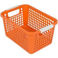 Купить корзинка дхшхв 225х170х125 мм пластик оранжевая bora 1/48 в Москве