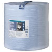 Купить материал протирочный бумажный 3-сл 255 м в рулоне н369хd390 мм tork синий sca 1/1 в Москве