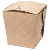 Купить контейнер бумажный china pack 460мл дхшхв 80х65х100 мм крафт gdc 1/35/560 в Москве