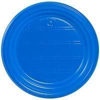 Купить тарелка d165 мм ps синяя ипк 1/100/2400 в Москве