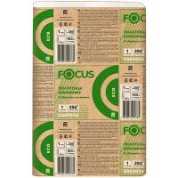 Купить полотенце бумажное листовое 1-сл 250 лист/уп 215х240 мм z-сложения focus extra белое hayat 1/12 в Москве