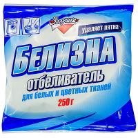 Купить отбеливатель порошковый 250г для белого и цветного белья белизна золушка амс 1/24 в Москве