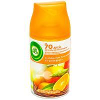 Купить освежитель воздуха автоматический 250мл air wick сменный баллон апельсин и грейпфрут benckiser 1/6 в Москве