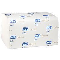 Купить полотенце бумажное листовое 2-сл 200 лист/уп 226х230 мм z-сложения tork h3 premium белое sca 1/15 в Москве
