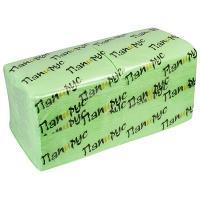 Купить салфетка бумажная фисташковая 24х24 см 1-сл 400 шт/уп папирус 1/18 в Москве
