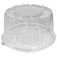 Купить упаковка кондитерская (тортница) н116хd226 мм на 0,9 кг круглая дно+крышка к 1/190 в Москве
