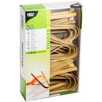 Купить щипцы н100 мм 50 шт/уп для закусок бамбук papstar 1/10 в Москве