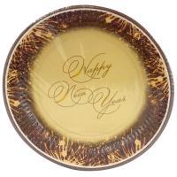 Купить тарелка бумажная d230 мм с дизайном happy new year papstar 1/10/200 в Москве