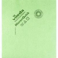 Купить салфетка микроволоконная (микрофибра) дхш 400х380 мм микронквик зеленая vileda 1/5/100 в Москве
