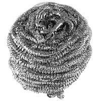 Купить губка (мочалка) для мытья посуды металлическая спиральная d65 мм 1 шт/уп 27 г maxi металл york 1/100 в Москве