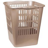 Купить корзина мусорная 11.5л дхшхв 265х250х288 мм пластик бежевая bora 1/28 в Москве