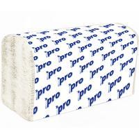 Купить полотенце бумажное листовое 2-сл 200 лист/уп 210х230 мм v-сложения белое protissue 1/20 в Москве