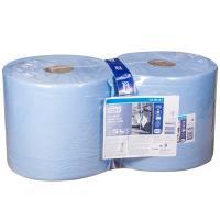 Купить материал протирочный бумажный 3-сл 119 м в рулоне н235хd262 мм tork синий sca 1/2 в Москве