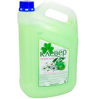 Купить мыло жидкое 5л перламутровое зеленое яблоко клевер канистра аквалон 1/4 в Москве