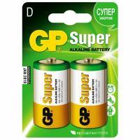 Купить батарейка d 2 шт/уп gp super в блистере 1/10 в Москве