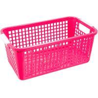 Купить корзинка дхшхв 305х173х125 мм пластик розовая bora 1/48 в Москве