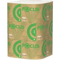 Купить полотенце бумажное листовое 1-сл 250 лист/уп 230х230 мм v-сложения focus eco белое hayat 1/15 в Москве