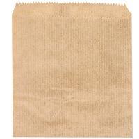 Купить пакет бумажный дхв 110х120 мм жиростойкий для картофеля фри с плоским дном крафт 1/100/10000 в Москве