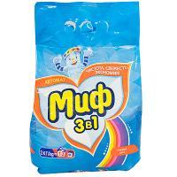 Купить порошок стиральный 2кг миф свежий цвет в п/п p&g 1/8 в Москве