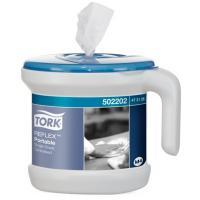 Купить диспенсер для полотенец с центр вытяжением дхшхв 250х236х238 мм переносной tork wave пластик белый sca 1/1 в Москве