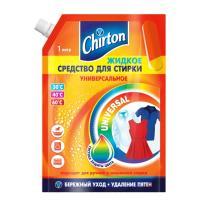 Купить средство для стирки жидкое 1л для любых видов тканей chirton doy-pack gd 1/6 в Москве