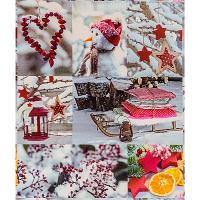"""Купить бумага оберточная ш 700 мм 30 м в рулоне рождественские украшения """"papstar"""" 1/10 в Москве"""