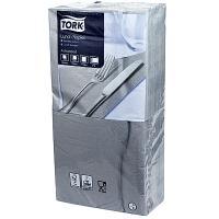 Купить салфетка бумажная серая 33х33 см 2-слойные 200 шт/уп tork sca 1/10 в Москве