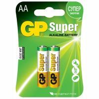 Купить батарейка aa 2 шт/уп gp super в блистере 1/10 в Москве