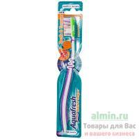 Зубная щетка AQUAFRESH 1 шт/уп TOOTH&TONGUE FLEX средняя жесткость 1/12/72