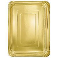 Купить поднос сервировочный дхш 330х240 мм прямоугольный картон золотистый papstar 1/10/120 в Москве