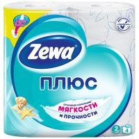 Купить бумага туалетная 2-сл 4 рул/уп zewa плюс океан белая 1/24 в Москве