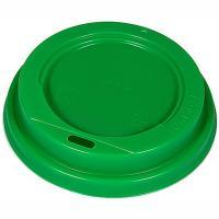 Купить крышка для стакана d90 мм с открытым питейником ps зеленая 1/100/1200 в Москве