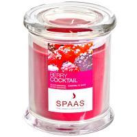Купить свеча н110хd90 мм в стекле арома премиум ягодный коктейль exsperience spaas 1/6 в Москве