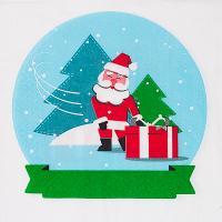 Купить салфетка бумажная 33х33 см 3-сл 20 шт/уп рождественский шар papstar 1/15 в Москве