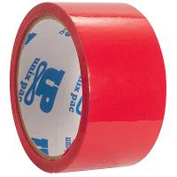Купить лента клейкая упаковочная ш 50 мм 50 м/рул красная 1/36 в Москве