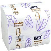 Купить бумага туалетная листовая 2-сл 252 лист/уп дхш 190х110 мм tork t3 premium белая sca 1/30 в Москве