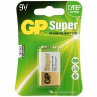 Купить батарейка 9v 1 шт/уп gp super в блистере 1/10 в Москве