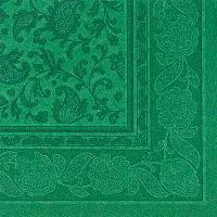 Купить салфетка бумажная зеленая 40х40 см 3-сл 20 шт/уп royal collection papstar 1/8 в Москве