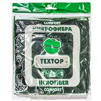 Купить салфетка микроволоконная дхш 350х350 мм 1 шт/уп цвет в ассортименте textop 1/100 в Москве