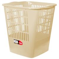 Купить корзина мусорная 16л дхшхв 280х300х320 мм пластик бежевый bora 1/23 в Москве