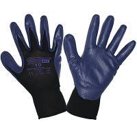 Купить перчатки рабочие с нитриловым покрытием размер 9 g40 синие kimberly-clark 1/12/60 в Москве