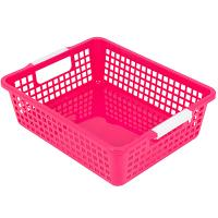 Купить корзинка дхшхв 274х215х82 мм пластик красная bora 1/48 в Москве