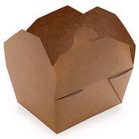 Купить упаковка бумажная 600мл дхшхв 130х105х64 мм крафт gdc 1/50/450 в Москве