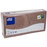 Купить салфетка бумажная коричневая 33х33 см 2-слойные 200 шт/уп tork (арт.477208) sca 1/10 в Москве